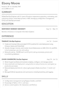Business Resume Example 2019 70