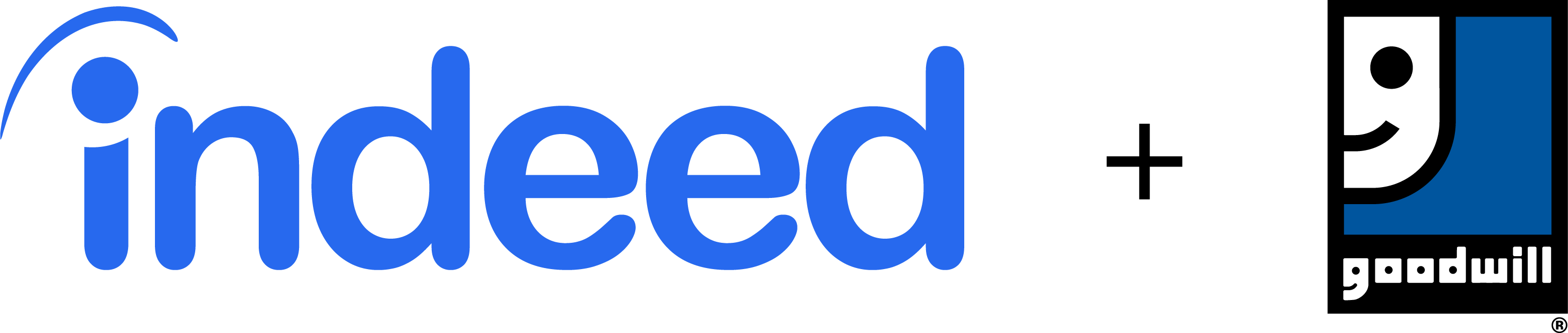 Indeed and Goodwill logo