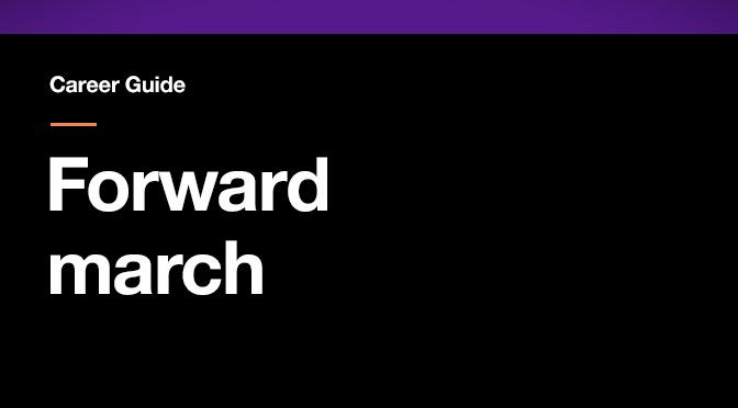 forward-march