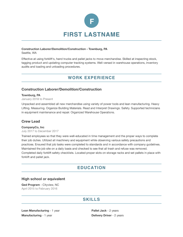 Free Professional Resume Templates Indeed Com