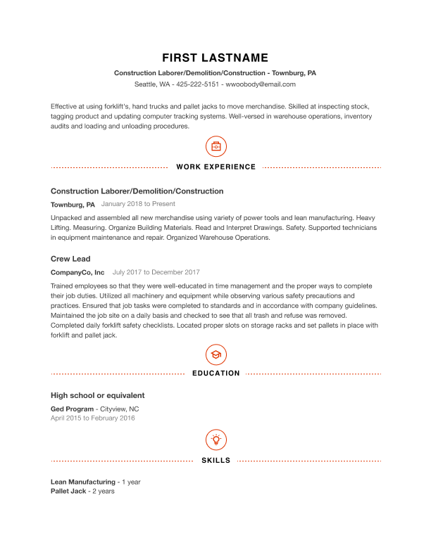 Free Professional Resume Templates | Indeed.com