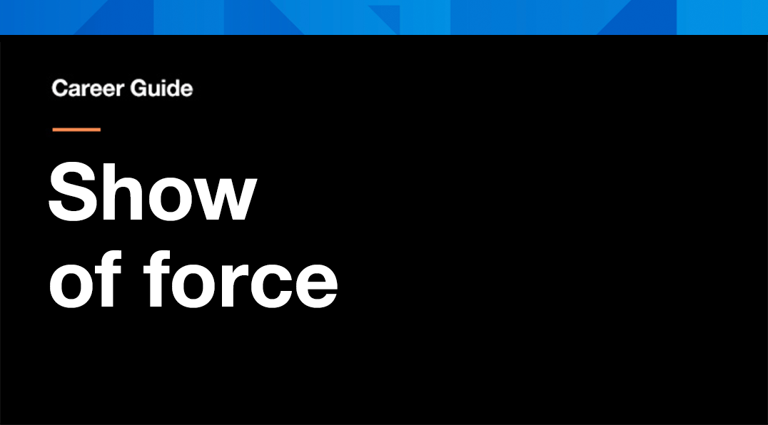 show-of-force