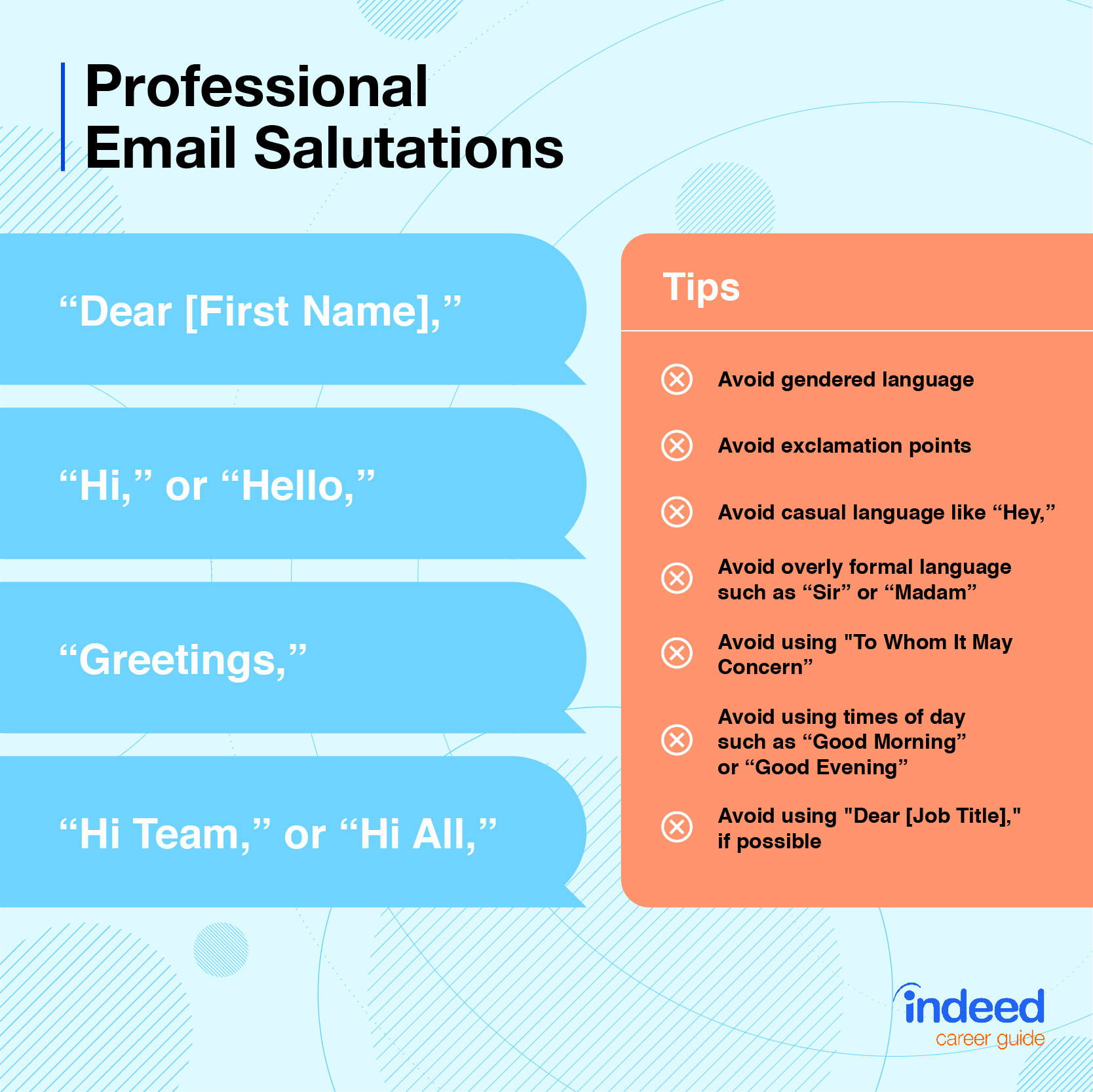 Email Salutations